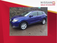 142 Qashqai 1.5 dci SV in Ink Blue (m)