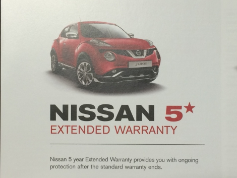 Protect Your New NISSAN For Longer With Our Comprehensive Extended Warranty  Which Will Extend Your New Car Warranty To 5 Years Or 150,000km .